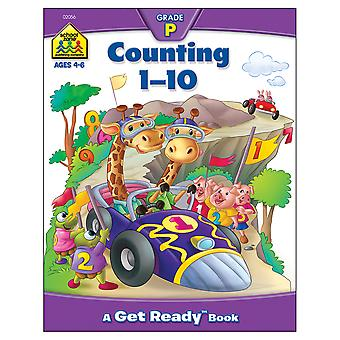 Preschool Workbooks 32 Pages Counting 1 10 Szpresch 02056