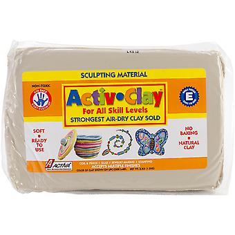 Activ Clay Self Hardening 3.3 Pounds White A182