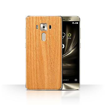 STUFF4 Case/Cover for Asus Zenfone 3 Deluxe ZS570KL/Pine/Wood Grain Pattern