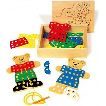 Legler Strung Set For  To Bear Dress  (Toys , Educative And Creative , Motricity)
