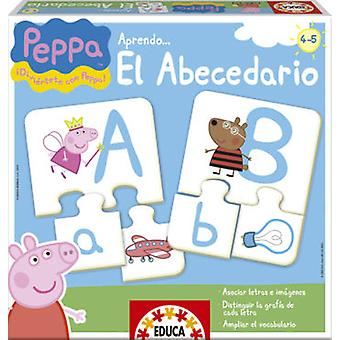 Educa Learn the alphabet Peppa Pig (Toys , Boardgames , Puzzles)