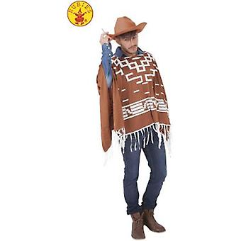 Rubie's Cowboy in September (Poncho + Hat) Adult (Costumes)