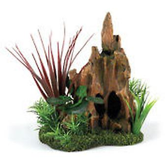 Classic For Pets Stump Pinnacle Garden (Fish , Decoration , Ornaments)
