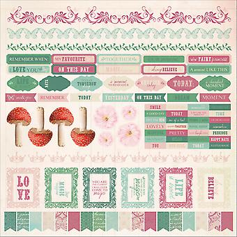 Enchanted Garden Cardstock Stickers 12