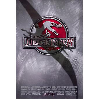Cartel de la película de Jurassic Park 3 (11 x 17)