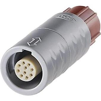 ODU K11M07-P02LPH0-0000 MEDI-SNAP Circular Connector With Push-pull Lock Nominal current: 14 A Number of pins: 2