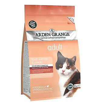 Arden Grange korn Gratis Voksen kat med fersk laks & kartofler 2kg