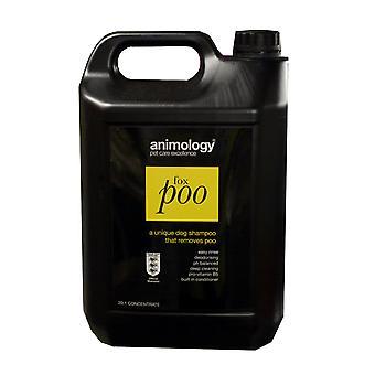 Animology hund Fox Poo Shampoo 5ltr
