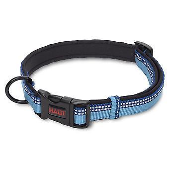 Halti Nylon justerbar krave blå Medium 20mm X35-50 cm