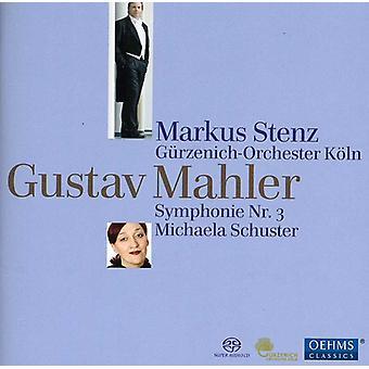 G. Mahler - Gustav Mahler: Symphony No. 3 [SACD] USA import