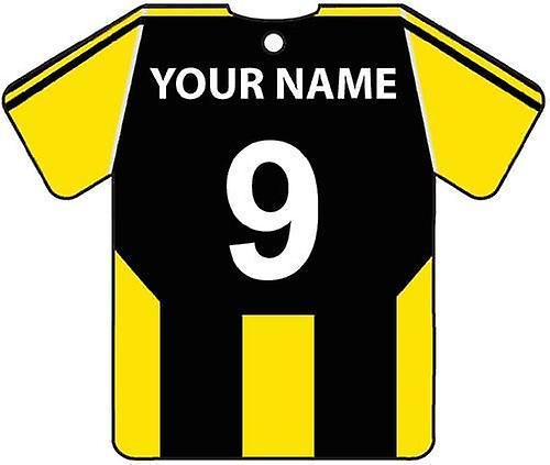 Personalisierte Burton Albion Football Shirt Auto Lufterfrischer