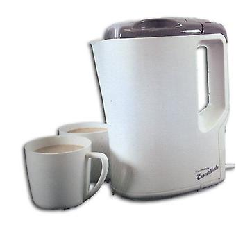 Lloytron Travel Kettle with Cups - Cream/Grey (E886)