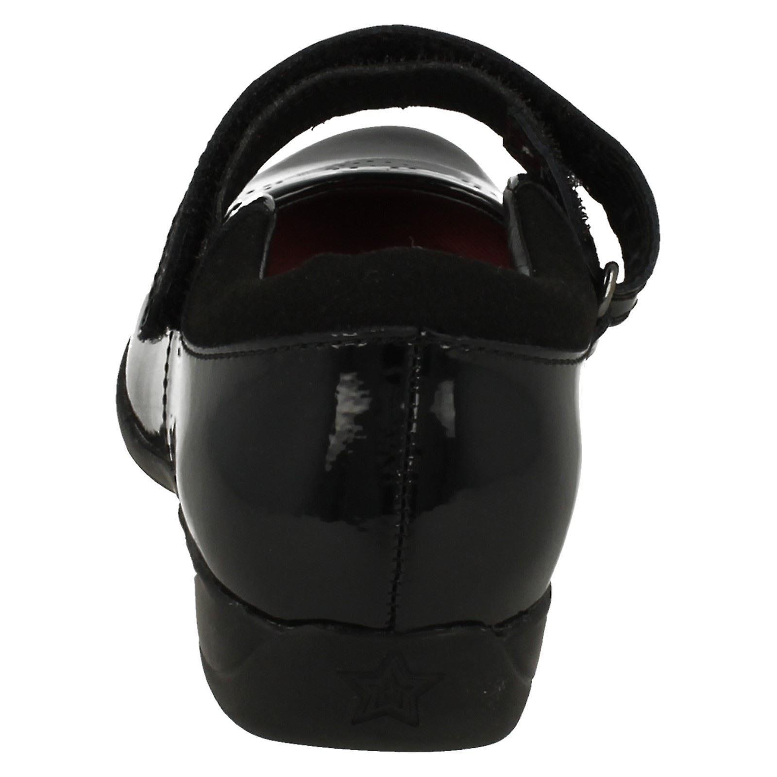 d75bd02b1 Infant Junior Girls Clarks School Shoes Friend Fizz