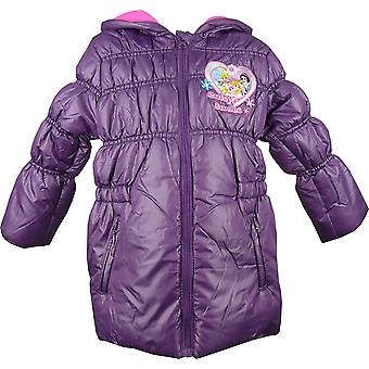 Girls Disney Princess Hooded Winter Puffer / Jacket