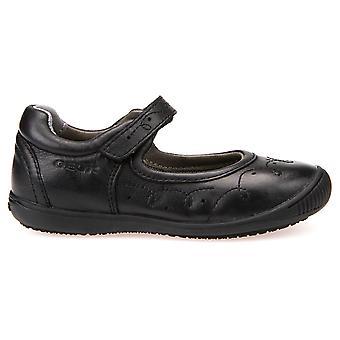 Geox Girls Gioia 2 fit J643CB School Shoes Black