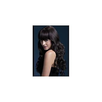 Smiffy's Fever Isabelle Wig, 26inch/66cm Brown