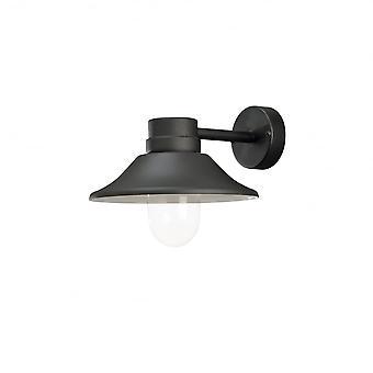 Konstsmide Vega Wall Lamp Black LED 5W