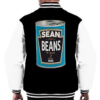 Sean Beans In Gravy 1 Variety Hard Men's Varsity Jacket