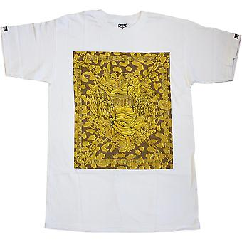 Estafadores y ladrones castillos Plaza Medusa camiseta oro