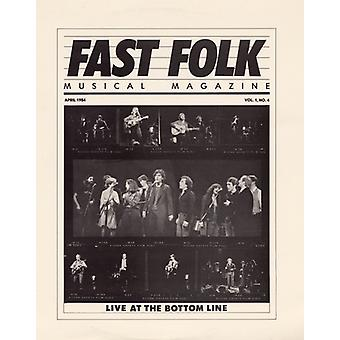 Snel Folk muzikale Magazine - Vol. 1-Fast Folk muzikale Magazine (4) Live at [CD] USA import