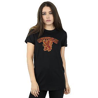 Harry Potter kobiety Gryffindor Sport godło chłopaka pasuje Koszulka