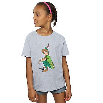 Disney Mädchen Peter Pan Peter T-Shirt klassisch