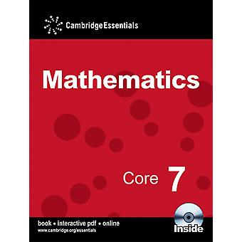 Cambridge Essentials Mathematics Core 7 Pupil's Book with CD-ROM (Paperback) by Sherran Peter