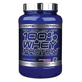 Scitec Nutrition Whey Protein Strawberry 920 Gr (Sport , Proteins)