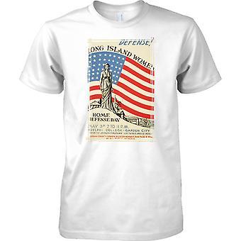 WW2 US militärische Propaganda-Plakat - Long-Island-Damen - Kinder T Shirt