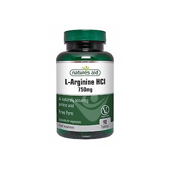 Naturens stöd L-arginin HCl 750mg 90 tabletter