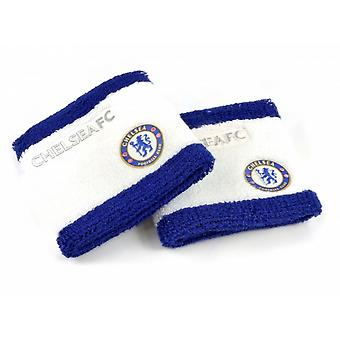 Chelsea FC Official Football Sweatbands (Set Of 2)