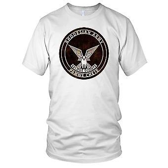 Esercito rodesiano Pamwe Chete Grunge effetto Mens T-Shirt