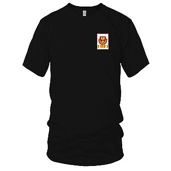 US Army - 320th Airborne Field Artillery Battalion Embroidered Patch - Vietnam Mens T Shirt