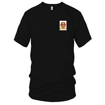 US Armee - 320th Airborne Field Artillery Battalion gestickt Patch - Vietnam-Herren-T-Shirt