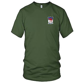 US Army - 80th Engineering Battalion Embroidered Patch - Ladies T Shirt