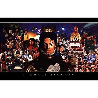 Michael Jackson Poster Poster Print
