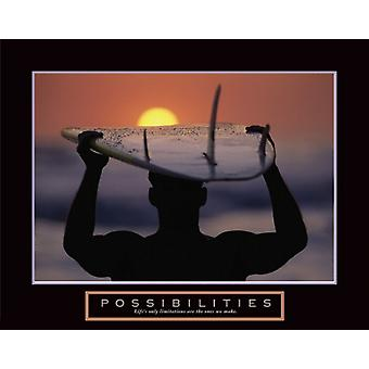 Possibilities - Surfer Poster Print (28 x 22)