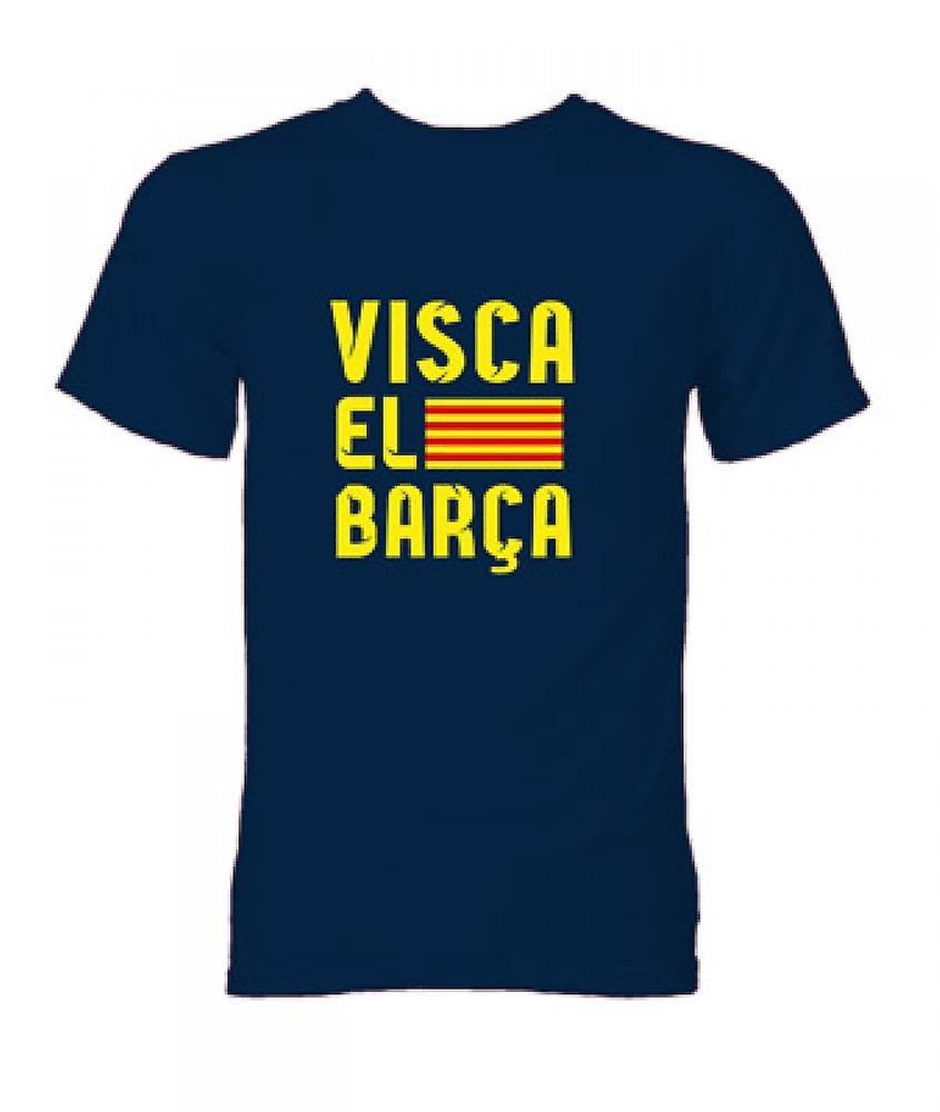 Visca El Barca T-Shirt (Navy)