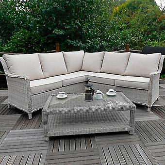 Royalcraft Seychelles Corner Lounging Set with Coffee Table