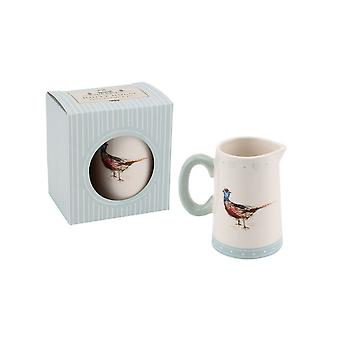 CGB Giftware Holly House Pheasant Milk Jug