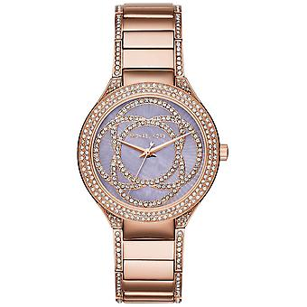 Michael Kors Watches Mk3482 Kerry Lilac & Rose Gold Stainless Steel Ladies Watch