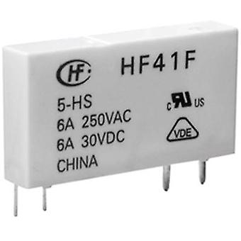 PCB relays 24 Vdc 6 A 1 change-over Hongfa HF41F/0