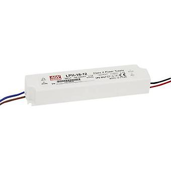LED driver Constant voltage Mean Well LPH-18-36 18 W (max) 0