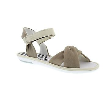 Fly London Mome - Cloud/Off White Cupido/Mousse (Brown) Womens Sandals