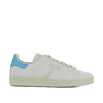 Tom Ford men's J1045TDAVBCE White leather of sneakers