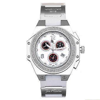 Joe Rodeo diamond men's watch - SHAPIRO silber 1.5 ctw