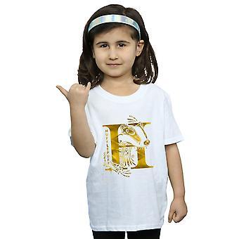 Harry Potter Girls Hufflepuff Badger T-Shirt
