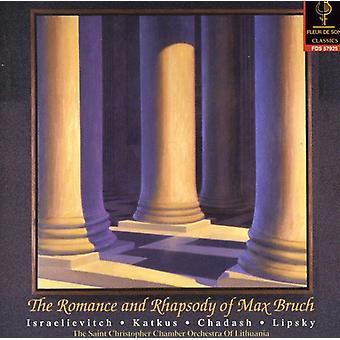 M. Bruch - Romance & Rhapsody of Max Bruch: Violin Cto 2 [CD] USA import
