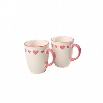 Mug Happy Hearts rose chaud 2510890