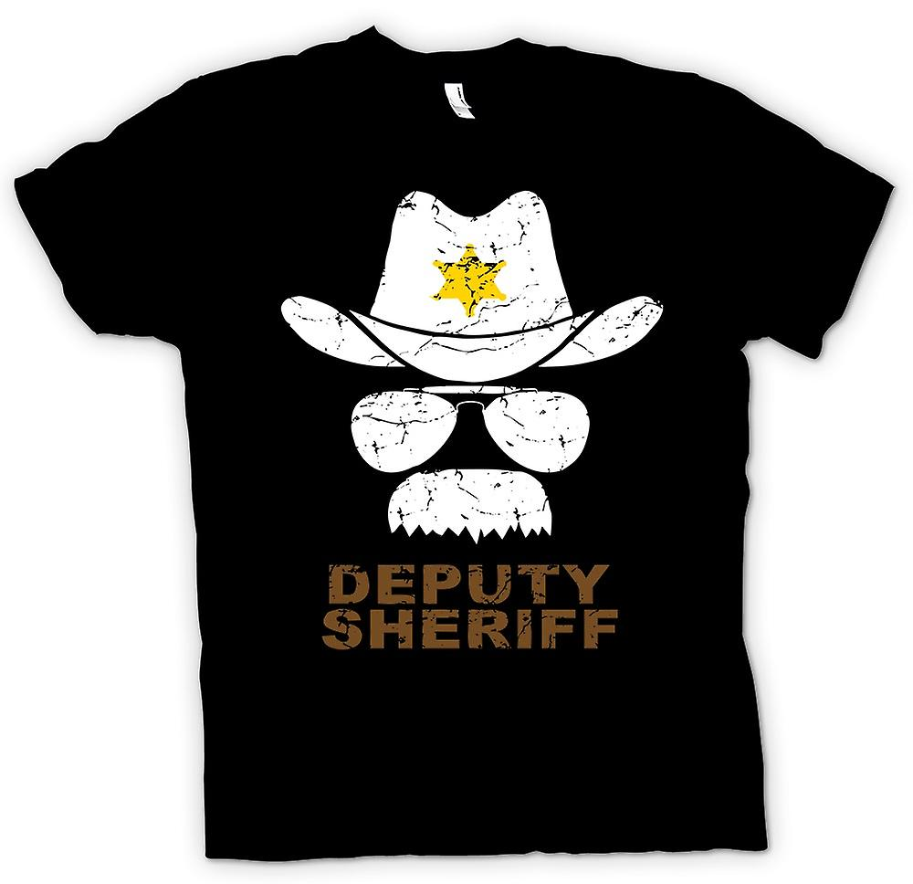 Kinder T-shirt - stellvertretender Sherriff Funny Polizei - Grafik-Design